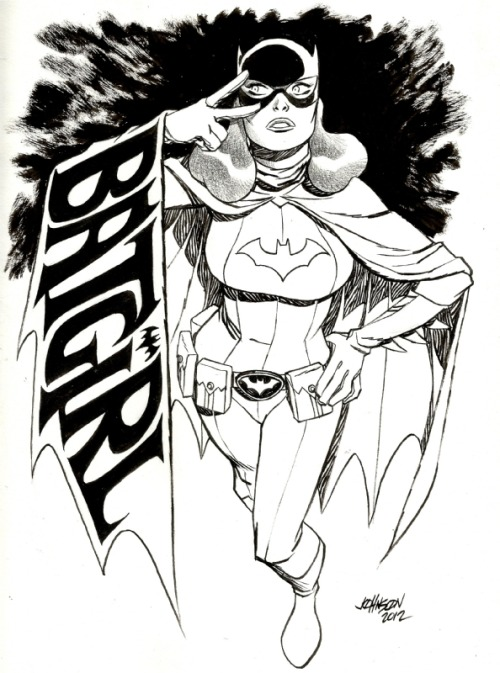 awyeahcomics:  Batgirl by Dave Johnson