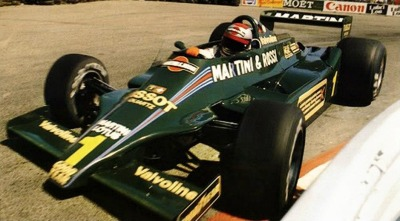 up close & personal …Mario Andretti, Martini Lotus-Ford 79, 1979 US West Grand Prix, Long Beach