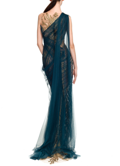 phe-nomenal:  Marchesa Spring 2013 rtw  Brb wearing nothing but this for the rest of forever.
