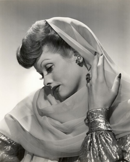 Lucille Ball - 1943 Publicity Photo http://www.screened.com