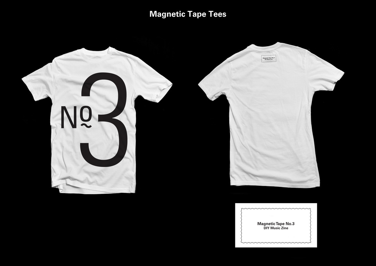 Issue 3 and tees available now at www.magnetictapezine.bigcartel.com