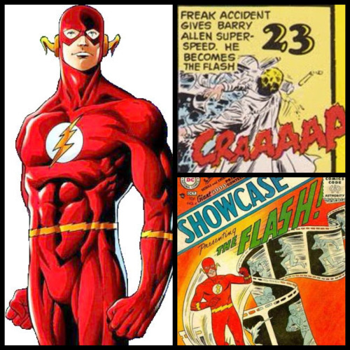 Today in the world of DC Comics: 23rd October - Freak accident gives Barry Allen super-speed. He becomes The Flash