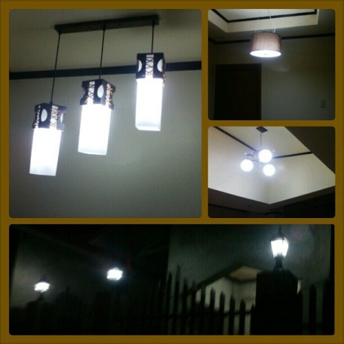 Take a look of our lighting fixture on our new house….. #architecture #interiordesign