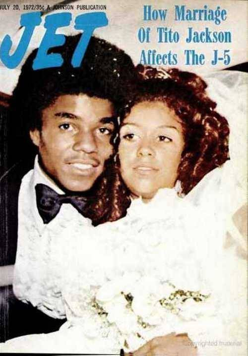 Tito Jackson gets married, Jet magazine, May 1972.