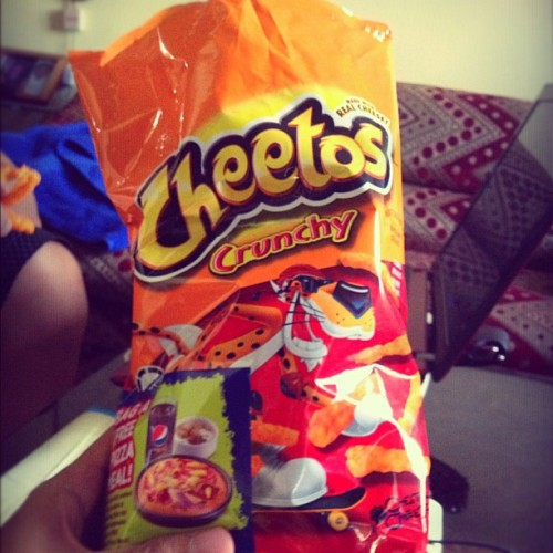 Have some Cheetos
