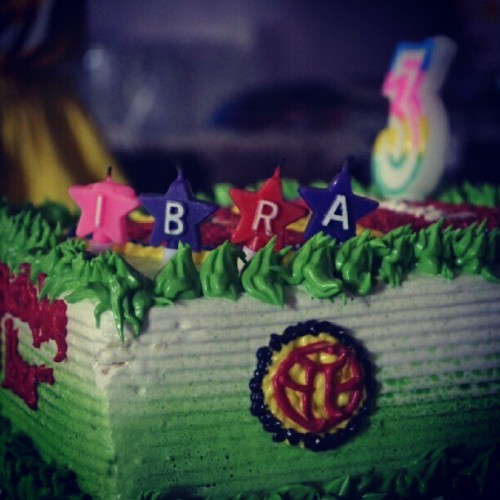 Happy bday IBRA #HBD #capturedmoment #ibra #hecallmeuncle #instagram #2012 #photography