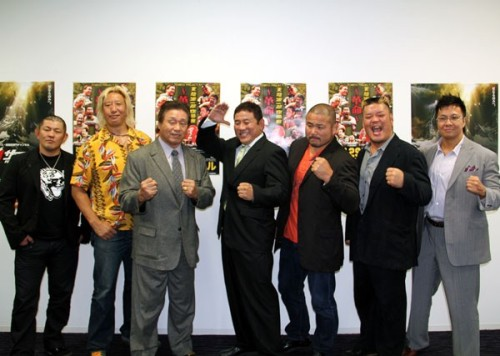 "[Tenryu Project News] Genichiro Tenryu's return match has been made official as he is set to return on December 29.Mr. Puroresu, who has been unable to compete due to spinal stenosis, is set to make his return at the end of the year in a big way.Tenryu will be teaming with Yoshihiro Takahayama, Minoru Suzuki and a ""to be determined wrestler"" as they take on NJPW's Yuji Nagata, Manabu Nakanishi, Hiroyoshi Tenzan & Satoshi Kojima.Tenryu will be teaming with the men who replaced him for the shows this year as the acting general's, but with the news that Kensuke Sasaki is taking time away from the ring for surgery of his own that leaves an open spot for Tenryu to fill.The match will be quite special in another way as it will see 3 generations (70, 80, and 90's) of Japanese Pro Wrestlers in the ring at the same time.Tenryu's shows are known for bringing together big main events and recently he even brought together former Triple Crown Champions to compete in a special 6 man tag.The announced return match for Tenryu is still a little over 2 months away and he aims to be 100% recovered by then. He also mentioned that he has been secretly training with his ""Goo Punch"" and Soccerball Kick already, with a grin on his face.As for the lat partner for Tenryu that is still undecided, but he thanked NJPW specifically for allowing him to use their talent.Tenryu Project ""Genichiro Tenryu Returns ~Revolution~"", 12/29/2012 [Sat] @ Korakuen Hall in TokyoTenryu's Return 8 Man Tag Match: Genichiro Tenryu, Yoshihiro Takahayama, Minoru Suzuki & ""to be determined"" vs. Yuji Nagata, Manabu Nakanishi, Hiroyoshi Tenzan & Satoshi Kojima."
