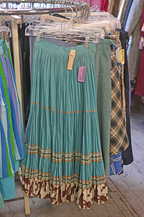 We put out a bunch of fantastic skirts in our Women's Vintage department! They're great for building a vintage-inspired costume, or perfect for everyday-wear!