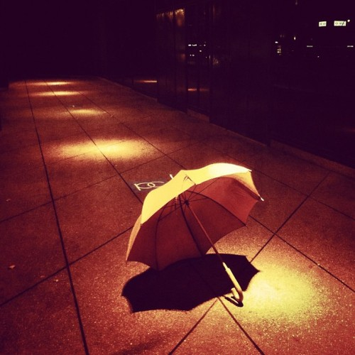 Another umbrella day (at Pacific Centre)