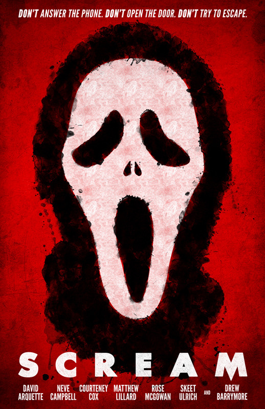 fuckyeahmovieposters:  Scream by William Henry
