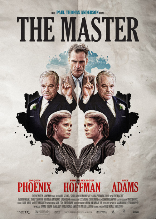 Turkish posters for Paul Thomas Anderson's The Master.
