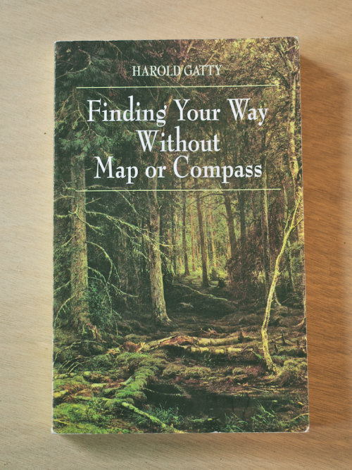 cabinporn:  From our library: Finding Your Way Without Map or Compass Life in the woods invites a keener awareness in all of us and over decades of research and adventure, Harold Gatty elevated this awareness to an art, assembling what is easily the most exhaustive and engaging book ever written on wilderness pathfinding. From the shape of anthills, to the color of clouds, to the habits of sea birds, Gatty's methods of navigation are diverse and ingenious, each one a tiny reminder of how clearly the natural world speaks to us, if we're willing to listen.