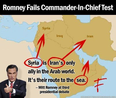 Romney fails the Commander-in-Chief test… via nickrrrad:  Teachers give Mitt Romney an F.