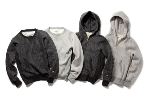 Champion 2012 Fall/Winter Reverse Weave Sweatshirt Collection. | Champion Japan.