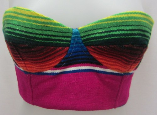 MARINA: This Mara Hoffman Sarape bustier is on sale on Ebay.com. Someone has to buy it!