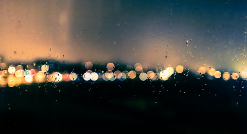 Saint-Cloud, France - Rainy bokeh (by Cyril Blanchard)