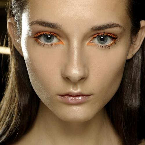 Backstage at Kenzo, M∙A∙C SS13 Paris Fashion Week