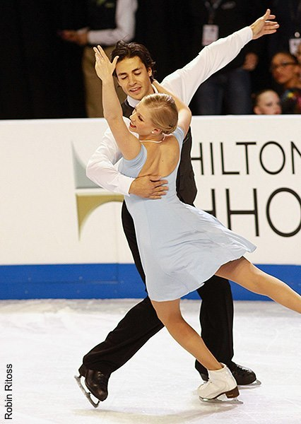 Weaver and Poje  Skate America 2012