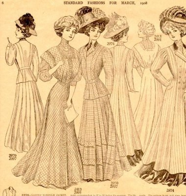 """Standard Fashions"", Newspaper Insert,  (March 1908)"