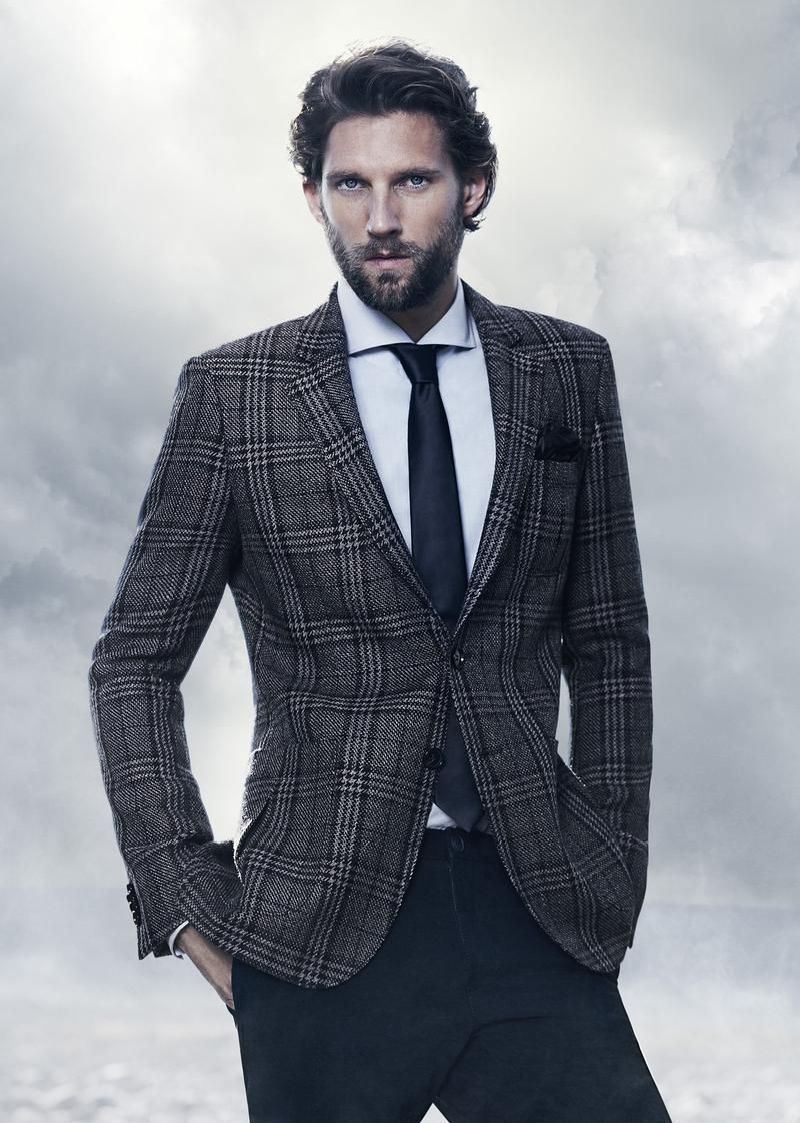 RJ Rogenski for BOSS Black Fall 2012 Campaign