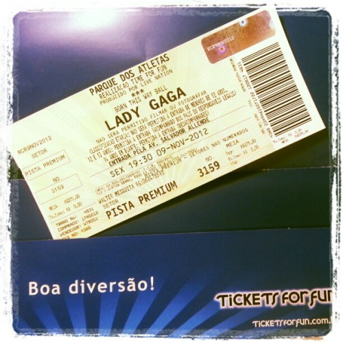 veeeem #ladygaga #gaga #monsterballtour #concert #tickets4fun
