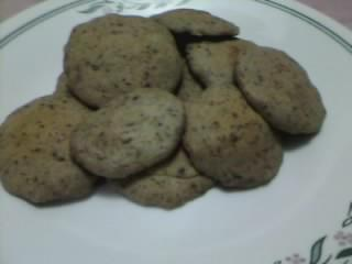this is my first ever cookies that i have baked…it is a milo flavor cookies…i got the recipe in the internet on someones blog…