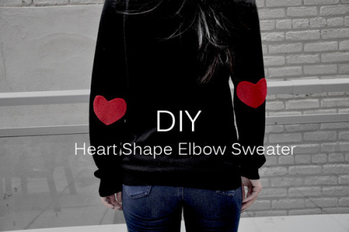 wildwithwhimsy:  DIY Heart Elbow Pads from My Little Secrets