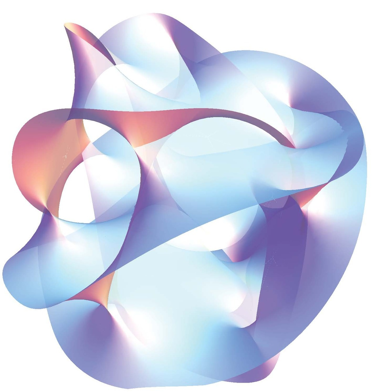 Calabi-yau manifold, the shape of string theory