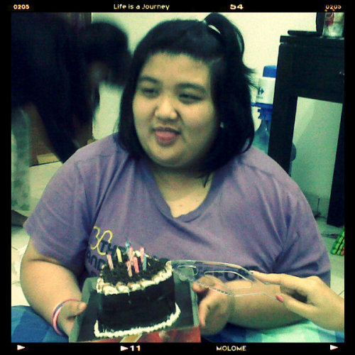 happy  belated birthday cici beauty \(^,^)/ (Photo taken and uploaded via MOLOME )