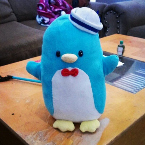 Why can't be this cute #cute #asian #sanrio #tuxedosam #penguin #kawaii #thai