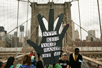 "thepeoplesrecord:  Judge rules that millions can sue NYPD over stop-and-friskOctober 23, 2012 A federal judge in New York has given the go ahead for a class action lawsuit to move forward against the city's police department over allegations that its stop-and-frisk program has continuously allowed officers to discriminate against minorities. In a ruling made Wednesday by US District Judge Shira Scheindlin, the pending suit against the NYPD, New York Mayor Michael Bloomberg and others was granted class action status. Authorities seem nonplussed. When asked for his take on Judge Scheindlin's decision, NYPD Commissioner Ray Kelly told the New York Times that he had no comment because the litigation was continuing, but offered one quip: ""It is what it is."" Mayor Bloomberg also said he couldn't comment specifically on the ruling, but, according to the Associated Press, had some words nonetheless. ""Nobody should ask Ray Kelly to apologize – he's not going to and neither am I – for saving 5,600 lives. And I think it's fair to say that stop, question and frisk has been an essential part of the NYPD's work; it's taken more than 6,000 guns off the streets in the last eight years, and this year we are on pace to have the lowest number of murders in recorded history. … We're not going to do anything that undermines that trend and threatens public safety,"" said the mayor. For others, however, it doesn't seem as clear cut; in her ruling, Judge Scheindlin decries, ""First, suspicionless stops should never occur."" The current case began to take hold all the way back in 2008 when attorneys representing four plaintiffs first began seeking class action status. The four original named plaintiffs say that they were wrongfully stopped and frisked based on their race. In only 2011, the NYPD stopped 685,724 New Yorkers, reports the American Civil Liberties Union. In all, 89 percent of those stopped were either black or Latino. Of the nearly 700,000 cases in that year alone, 88 percent of the people stopped were found innocent. Such statistics are largely typical for previous years, although one thing that has changed as time has gone on is the number of pedestrians stopped by law enforcement. ""[T]he policing policies that the city has implemented over the past decade and half have led to a dramatic increase in the number of pedestrian stops, to the point of now reaching almost 600,000 a year,"" Judge Scheindlin wrote of the case earlier this year. Now anyone that feels they have been victimized similarly by the New York Police Department by means of an invasive and unwarranted search since 2005 can add their name to the case. By way of the NYPD's controversial stop-and-frisk policies, police officers in the Big Apple are allowed to conduct searches of suspicious persons if they have reason to believe that they are committing a crime. Statistics documenting the history of the program reveal, however, that skin color seems to play a pivotal role when the police are left to decide who is frisked and who isn't. Judge Scheindlin says it is unlikely that many people will sign on to the case, but that doesn't mean there aren't many who would be excluded from doing so. The NYPD has already stopped and frisked more than 200,000 people on the streets of New York in the first three months of 2012 alone; between 2004 and 2009, around 2.8 million similar stops were carried out. ""This case presents an issue of great public concern: the disproportionate number of Blacks and Latinos, as compared to Whites, who become entangled in the criminal justice system,"" the judge writes in her ruling. ""The specific claims raised in this case are narrower but they are raised in the context of the extensively documented racial disparities in the rates of stops, arrests, convictions, and sentences that continue through the present day."" Elsewhere in her ruling, Judge Scheindlin says that the NYPD's arguments in favor of the program appear ""cavalier""and display ""a deeply troubling apathy towards New Yorkers' most fundamental constitutional rights."" In a statement offered to the AP, the law office for the city of New York says, ""We respectfully disagree with the decision and are reviewing our legal options."" Source In the words of NYPD commissioner Ray Kelly, ""It is what it is"" - Legalized racial profiling."