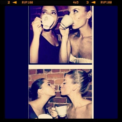 #tea #tutus #bestfriends @daynaboal xo