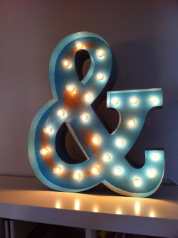 etsy:  (via Vintage Marquee Lights CHOOSE ANY COLOR by VintageMarqueeLights)