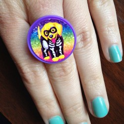 sleepyneuf:  Doggie Barko by #lisafrank  Lisa Couture is an important part of my IG ;)