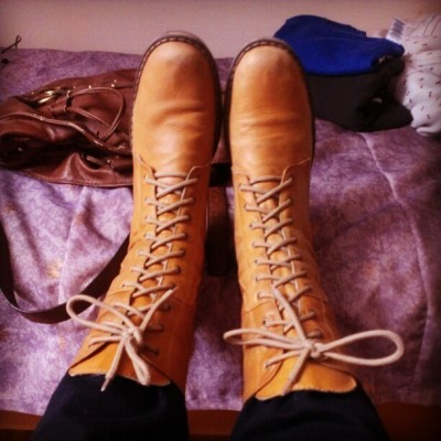 Love these boots that I bought in Colombia :) #boots #colombia #fall #shoes