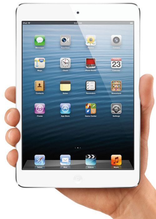 laughingsquid:  Apple Unveils iPad Mini, iPad 4, new iMac and 13″ MacBook Pro