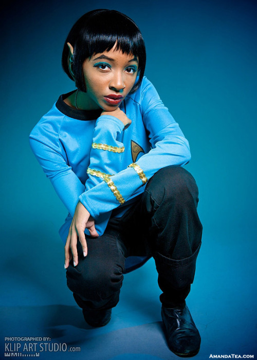 cosplayingwhileblack:  Character:Spock Series Star Trek  SUBMISSION
