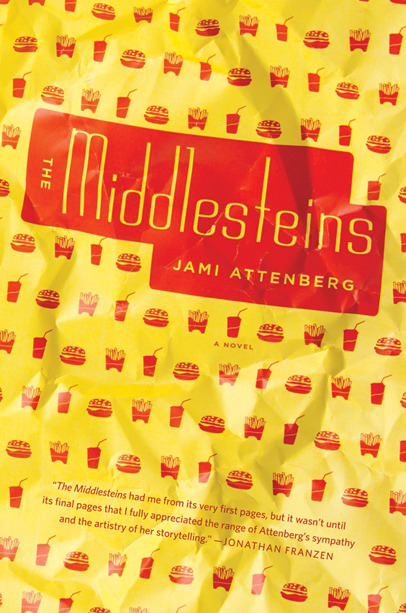 "THE MIDDLESTEINS - Jame Attenberg I read Jami Attenberg's The Middlesteins in a frenzy- consuming something I innately understood but wanted to learn everything about.  It's strange to think of myself violently inhaling this book because the book itself is about the scariness of self-control, the pleasure and addiction in sensory overload, and the texture of sacrifice.  The reader experiences the intoxication of addiction, unable to put down The Middlesteins, while reading about someone who literally can't stop doing something that makes her feel good but ultimately hurts her.  Attenberg has written a novel that so greatly encompasses these ideas and their manifestations in a family that upon closing The Middlesteins, I felt an inner peace.  I was relieved someone ""got it,"" because stubbornness is the less beautiful and sentimental thing The Middlesteins is about.  Attenberg turns stubbornness into danger, she both humanizes and vilifies people who are unable to change by showing us their reasons and their selfishness. Along with the stunning portrait of addiction made physically felt, Attenberg really ""gets"" families.  The Middlesteins resembles The Corrections in this way, her grip on a family's dynamics and the way individuals can be impacted by the family entity is similar to Franzen's.  There is a delicate thread connecting the spools of each family member in both books; the sons and daughters can unravel if pulled by these threads.  In The Middlesteins, the matriarch causes turbulence despite the fact that her husband is disloyal and self-preservationist.  His decision to distance himself from his wife's self-destruction, to save himself, becomes a shock to the family eco-system, despite the slow decay of the bad decisions on his wife's part.  Their children struggle in dealing with the extremes of their parents, a father who struggles to be happy, to live, and a mother who is slowly killing herself with her addiction to food. The obviousness of everything in Jami Attenberg's novel doesn't cheapen the emotional impact.  You can see everything coming from a mile away, the story seems inevitable.  It's not boring to know what's in store for the Middlesteins not because Attenberg's writing is good, which it is, but because the family is universal, their struggles are everyone's.  In our own ways, we can all identify with the pull of families and the flaws and beauty we inherit from them.  And the dawning of this innate understanding is what makes The Middlesteins special."