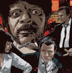 See this exclusive Pulp Fiction themed panel of the eye-popping artwork from Quentin Tarantino's XX Blu-ray collection. And expect greater things to come as this is just the premiering panel of five: http://bit.ly/P03Y8l [Photo Credit: Lionsgate Miramax]