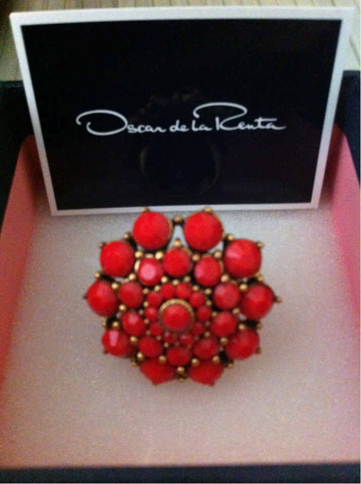 Thank you Rent The Runway for the Oscar De La Renta ring. I love it.
