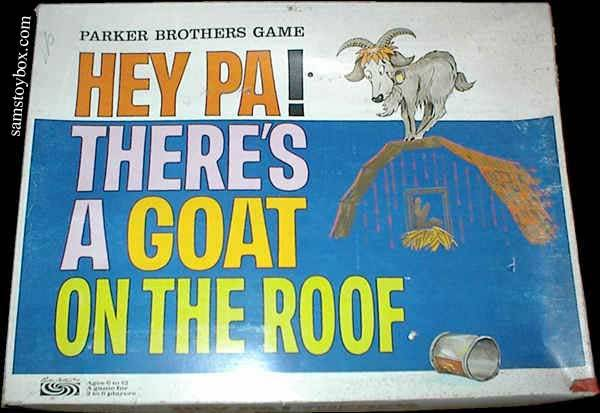 cryptofwrestling:  Hey Pa! There's A Goat On The Roof game (1966)