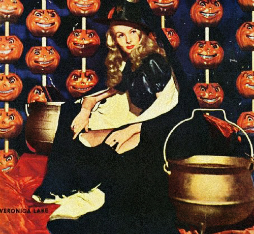 gravesandghouls:  Veronica Lake in I Married a Witch (1942)