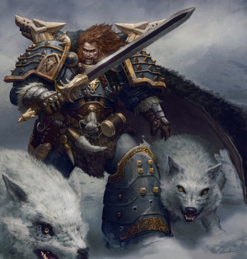 syfycity:  Leman Russ - Primarch of the Space Wolveshttp://syfycity.tumblr.com