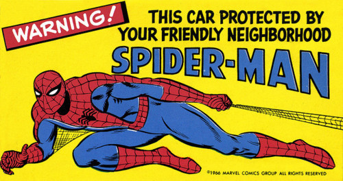 MMMS Spider-Man Sticker (1966)