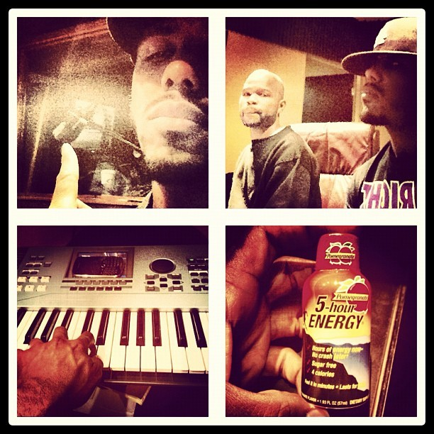 Studio Session w @bennybriggs1 getting my #Production in