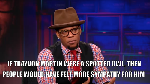 D.L. Hughley was on The Daily Show last night for a great discussion about race in America with Jon Stewart. Click the image to watch the interview, then don't miss the premiere of D.L.'s new special, The Endangered List, Saturday at 11/10c on Comedy Central.
