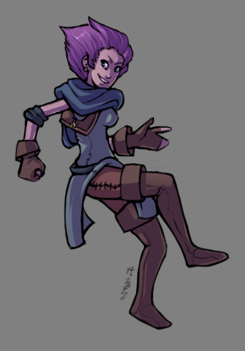 New Pathfinder character. C: My Gnome Bard. She doesn't have a name yet…