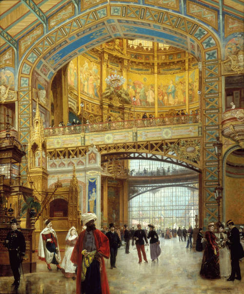 Louis Béroud, Central Dome of the Gallerie des Machines. © 1889. Oil on canvas.