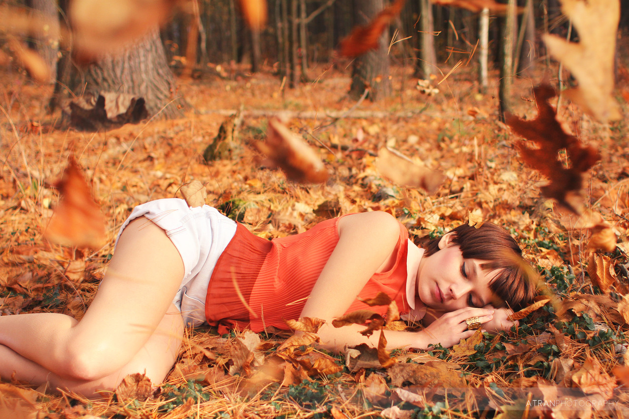 Beneath the Falling Leaves on Flickr. More of Anna. She's too amazing