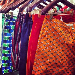 Bright swim trunks from @jackspadeny SS13 collection have us wanting a tropical vacation. #SWGNY (at Starworks Group)